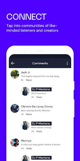 Mixcloud - Radio- & DJ-Mixes screenshot 5