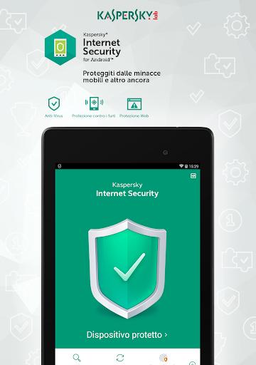 Kaspersky Mobile Antivirus: AppLock Sicurezza Web screenshot 9