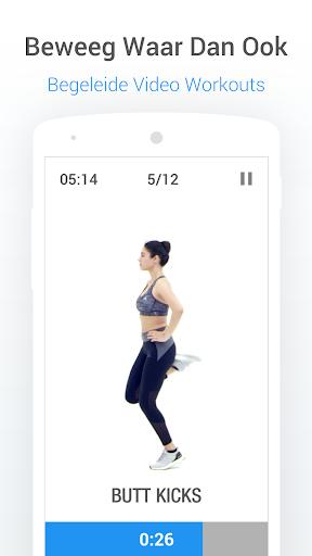 Stappenteller Calorieën en Gewichtsverlies Tracker screenshot 4