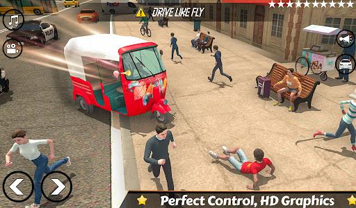 Mountain Auto Tuk Tuk Rickshaw:新しいゲーム2021 screenshot 2