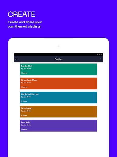 Mixcloud - Radio- & DJ-Mixes screenshot 8