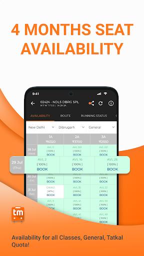 Train Ticket Booking App for IRCTC: Train man screenshot 5