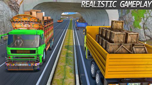 インド人 リアル トラック ドライブ シム screenshot 2