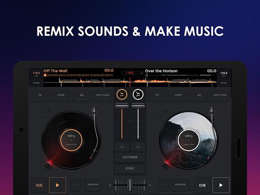 إيدجنغ ميكس: خلاط موسيقي دي جي 7 تصوير الشاشة