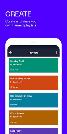 Mixcloud - Radio- & DJ-Mixes screenshot 3