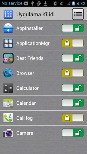 Uygulama Kilidi screenshot 3