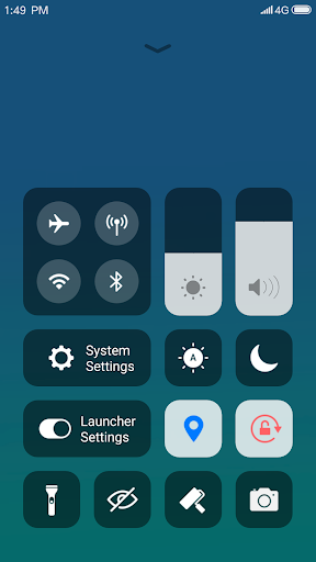 X Launcher: With OS13 Style Theme & Control Center screenshot 3