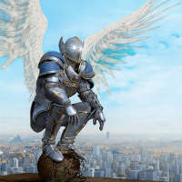 Crime Angel Superhero - Vegas Air Strike on 9Apps