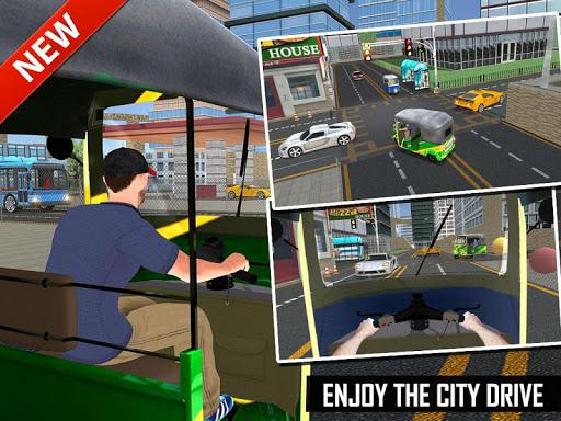 Tuk Tuk Auto Rickshaw Offroad Driving Games 2020 screenshot 24