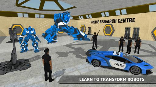Polizeiauto Robotertransporter screenshot 7