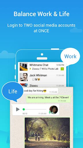 Parallel Space Lite-Dual App screenshot 3