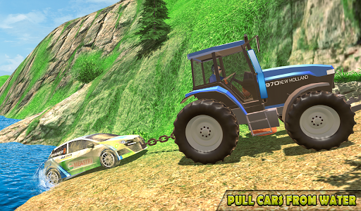 Tractor Pull Simulator Drive: Tractor Game 2021 स्क्रीनशॉट 4