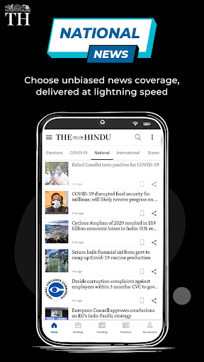 The Hindu News: India's Most Trusted English Daily screenshot 1
