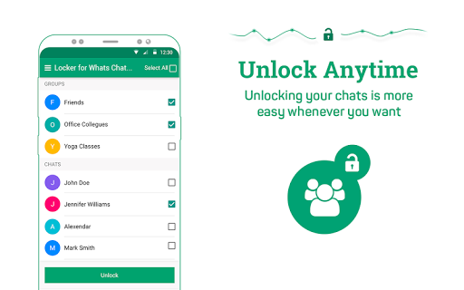 Locker for Whats Chat App - Secure Private Chat screenshot 11