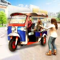 Tuk Tuk Rickshaw Shopping Mall Driving Games 2020 on 9Apps