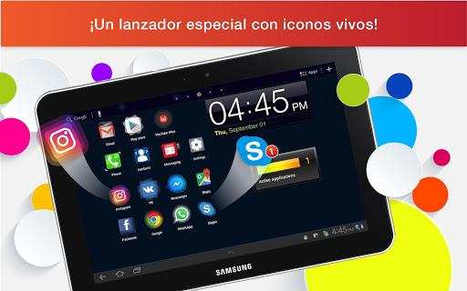 Lanzador con Iconos en Vivo para Android screenshot 9