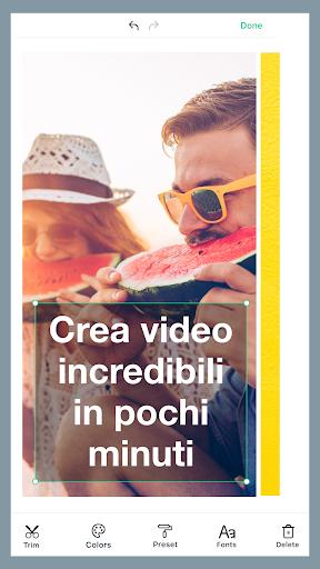 Magisto - Montaggio Video e Presentazione di Foto screenshot 1